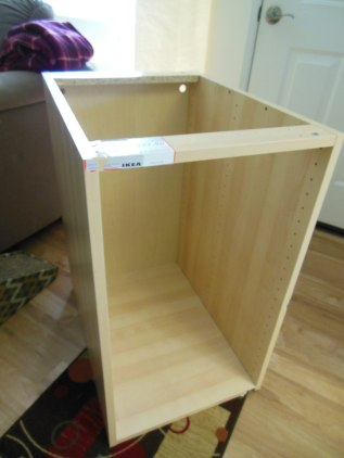 Ikea kitchen base cabinet from the As-Is section.  $20