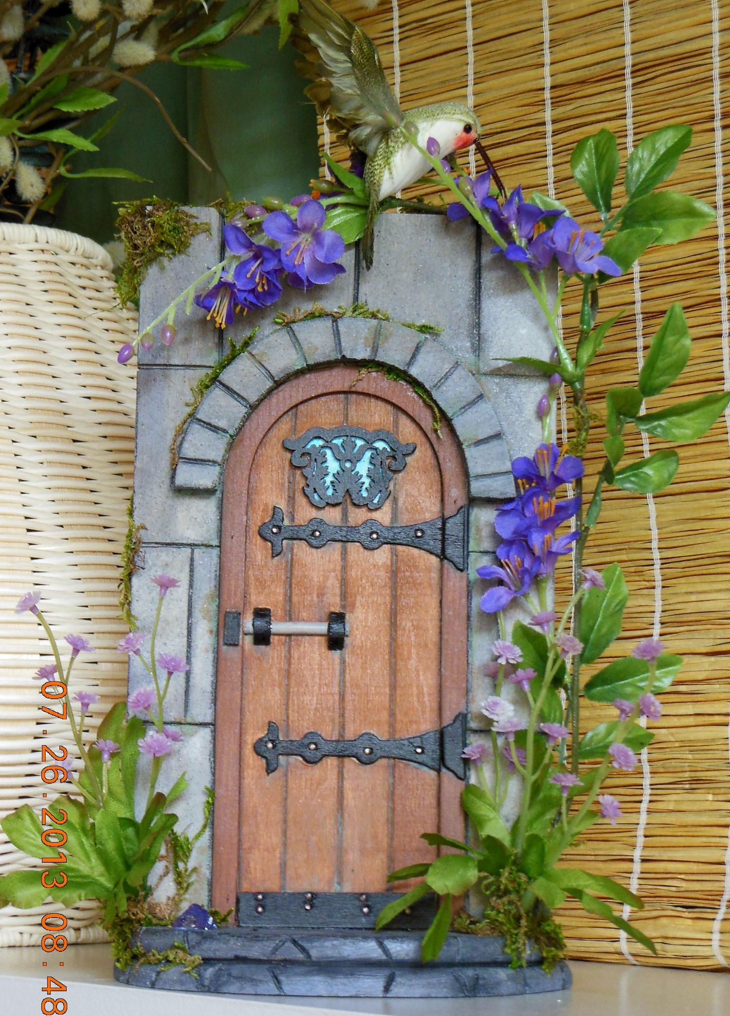Tony powell my window for Idea behind fairy doors